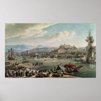 Trieste Harbour, 1802 Print