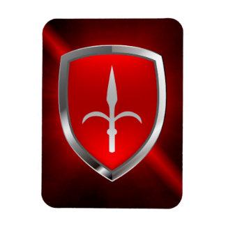 Trieste Mettalic Emblem Magnet