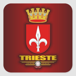 Trieste Square Sticker