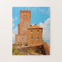 Trifel's Castle Germany. Jigsaw Puzzle