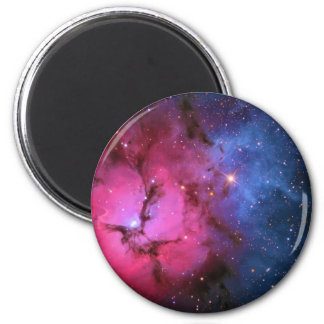 Trifid Emission Reflection Nebula M20 NGC 6514 2 Inch Round Magnet