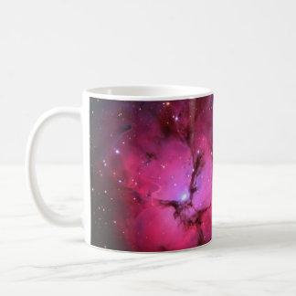 Trifid Emission Reflection Nebula M20 NGC 6514 Classic White Coffee Mug