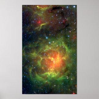 Trifid Nebula, M20 Poster