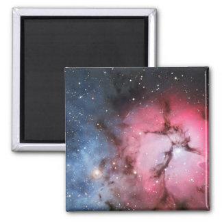 Trifid Nebula, Messier 16 - Pillars of Creation 2 Inch Square Magnet