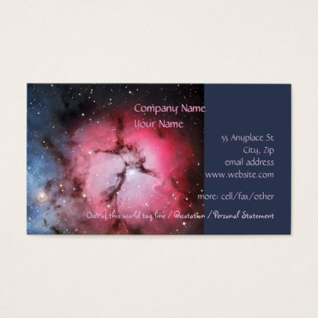 Trifid Nebula, Messier 16 - Pillars of Creation Business Card