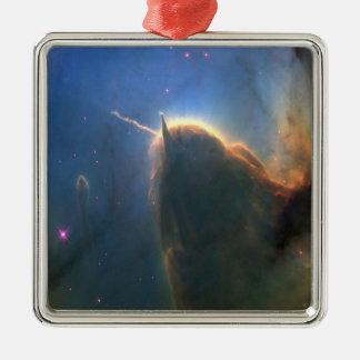 Trifid Nebula Metal Ornament