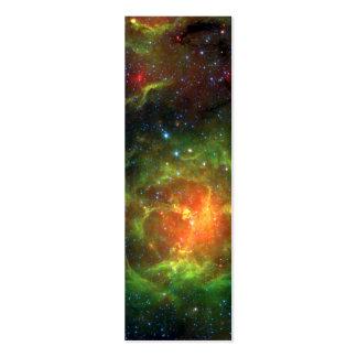 Trifid Nebula NASA Spitzer Business Card