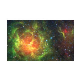 Trifid Nebula NASA Spitzer Canvas Prints