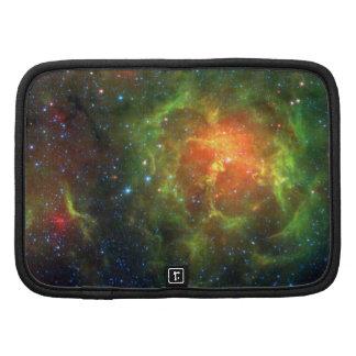 Trifid Nebula NASA Spitzer Organizer