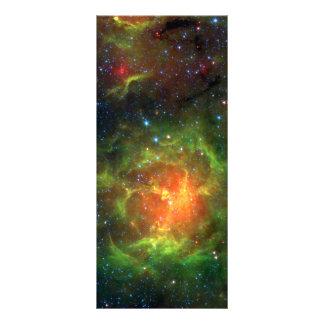 Trifid Nebula NASA Spitzer Rack Card