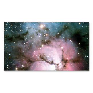 TRIFID NEBULA (outer space) ~.jpg Magnetic Business Cards (Pack Of 25)