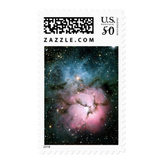 TRIFID NEBULA (outer space) ~.jpg Postage