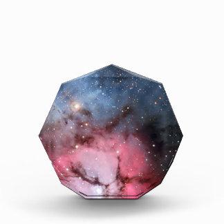 Trifid Nebula Space Astronomy Acrylic Award