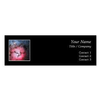 Trifid Nebula Space Astronomy Business Cards