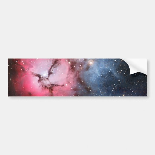 Trifid Nebula Space Astronomy Car Bumper Sticker