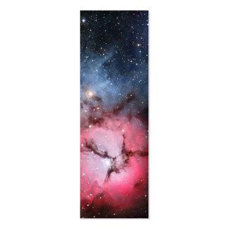 Trifid Nebula Space Astronomy Mini Business Card