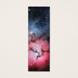 Trifid Nebula Space Astronomy Mini Business Card