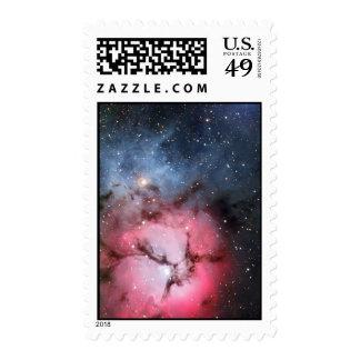 Trifid Nebula Space Astronomy Postage