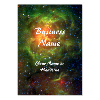 Trifid Nebula Space Spitzer Business Card