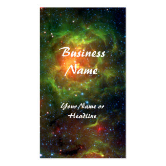 Trifid Nebula Space Spitzer Business Card Templates