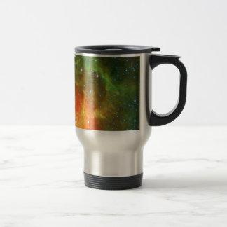 Trifid Nebula Space Spitzer Green Coffee Mug