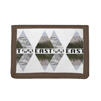 TriFold Nylon Wallet EAST COAST