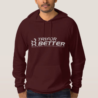 TriForBetter Distressed Hoody