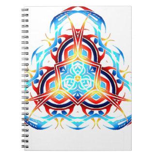 triforce tribal libretas espirales