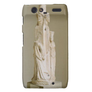 Triform Herm of Hecate, Marble sculpture, Attic pe Droid RAZR Covers