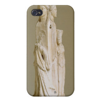 Triform Herm of Hecate, Marble sculpture, Attic pe iPhone 4 Cases