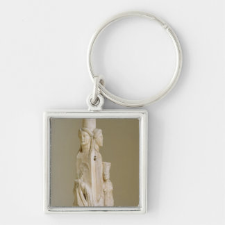 Triform Herm of Hecate, Marble sculpture, Attic pe Keychains
