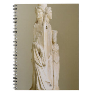 Triform Herm of Hecate, Marble sculpture, Attic pe Journals