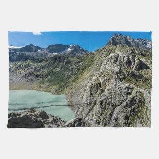 Triftsee Suspension Bridge - Gadmen - Switzerland Hand Towel