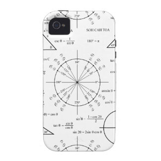 Trig & Triangles Case-Mate iPhone 4 Covers