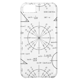Trig & Triangles Case For iPhone 5C