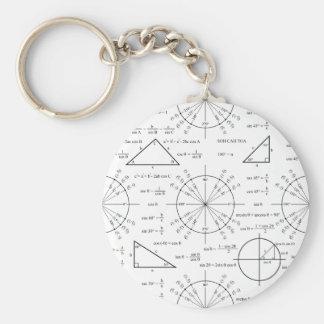 Trig & Triangles Key Chains