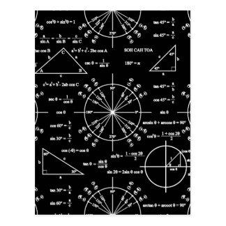 Trig & Triangles Postcard