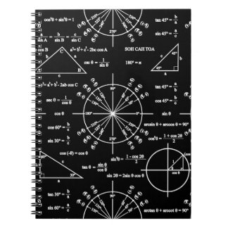 Trig & Triangles Spiral Notebook
