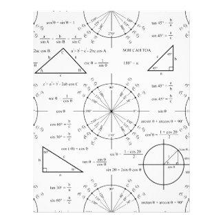 Trig y triángulos membrete