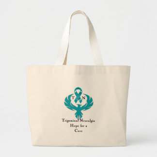 Trigeminal Neuralgia Awareness Large Tote Bag