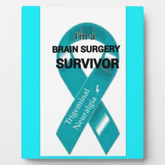 Trigeminal Neuralgia Awareness Plaque