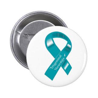 Trigeminal Neuralgia Awareness Ribbon Pinback Button