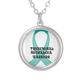 Trigeminal Neuralgia Awareness Round Pendant Necklace