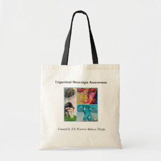 Trigeminal Neuralgia Awareness Tote Bag
