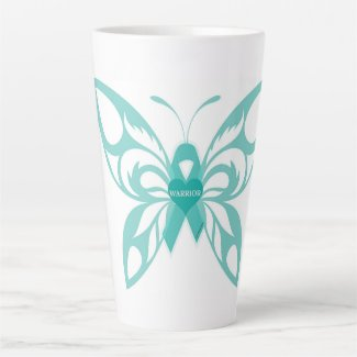 Trigeminal Neuralgia Butterfly #3 Latte Mug