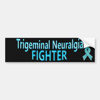 Trigeminal Neuralgia Fighter Bumper Sticker Car Bumper Sticker