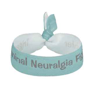 Trigeminal Neuralgia Fighter Hair Band Ribbon Hair Tie