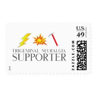 Trigeminal Neuralgia Warrior Postage