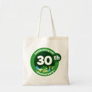 trigésimo Aniversario Bolsa Tela Barata