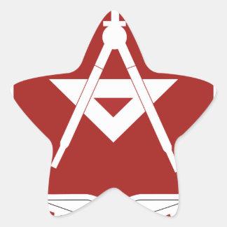 trigésimo Batallón del ingeniero Pegatina En Forma De Estrella